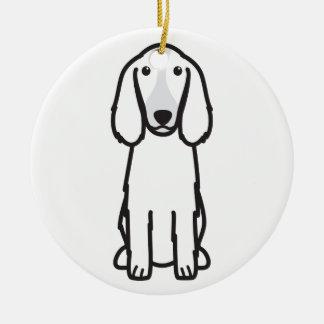 Welsh Springer Spaniel Dog Cartoon Ceramic Ornament
