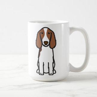 Welsh Springer Spaniel Dog Cartoon Coffee Mug