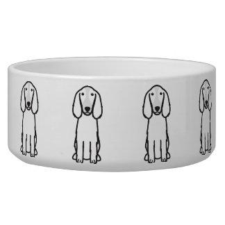 Welsh Springer Spaniel Dog Cartoon Dog Bowls