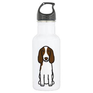 Welsh Springer Spaniel Dog Cartoon 18oz Water Bottle