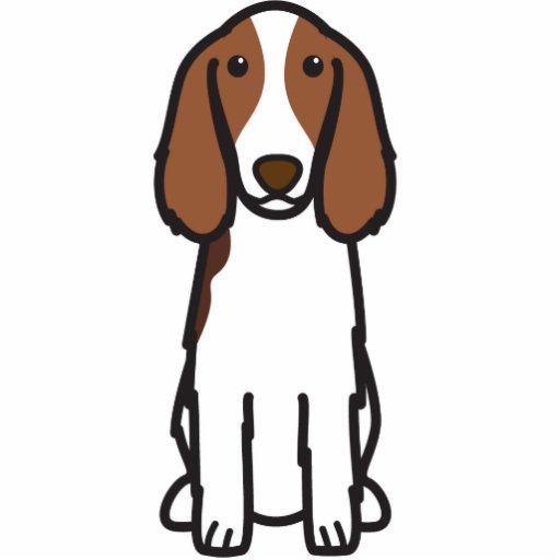 Welsh Springer Spaniel Dog Cartoon Photo Sculpture Zazzle
