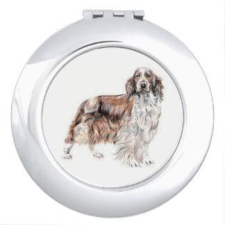 Welsh Springer Spaniel Dog Compact Mirror