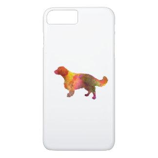 Welsh Springer Spaniel in watercolor iPhone 7 Plus Case