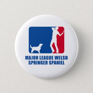 Welsh Springer Spaniel Pinback Button