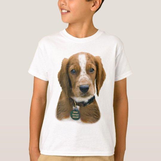 Welsh Springer Spaniel portrait T-Shirt