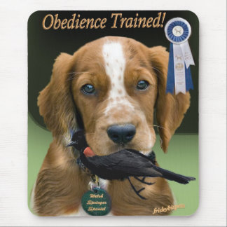 Welsh Springer Spaniel Puppy Mouse Pad
