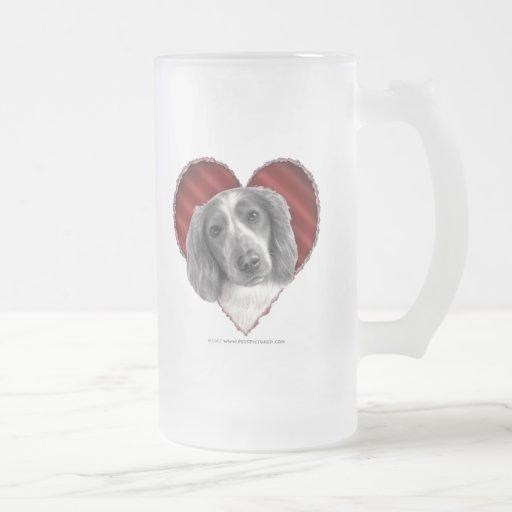 Welsh Springer Spaniel with Heart Coffee Mug