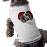 Welsh Springer Spaniel with Heart Dog Tee Shirt