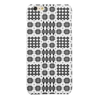 Welsh Tapestry Black, White iPhone 6 Plus Case