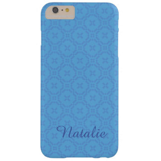 Welsh Tapestry Pattern, Blue iPhone 6 Plus Case