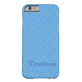 Welsh Tapestry Pattern, Custom Blue iPhone 6 Case