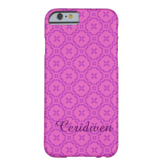 Welsh Tapestry Pattern, Custom Pink iPhone 6 Case