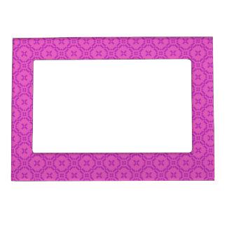 Welsh Tapestry Pattern, Pink Magnetic Frame