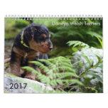Welsh Terrier 2017 Calendar by Darwyn