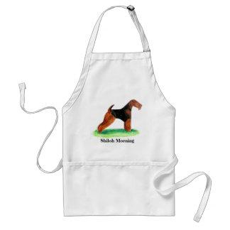 Welsh Terrier Adult Apron