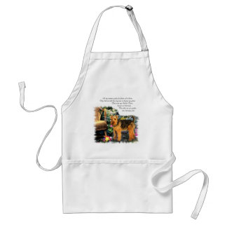Welsh Terrier Art Gifts Aprons
