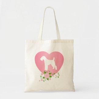 Welsh Terrier Budget Tote Bag