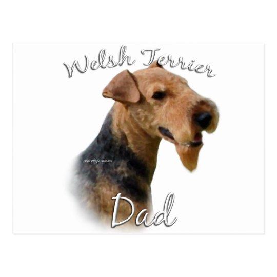 Welsh Terrier Dad 2 Postcard
