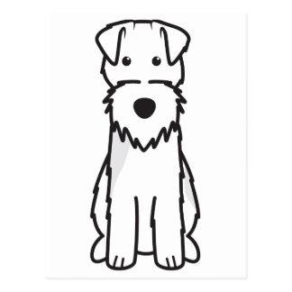 Welsh Terrier Dog Cartoon Post Cards