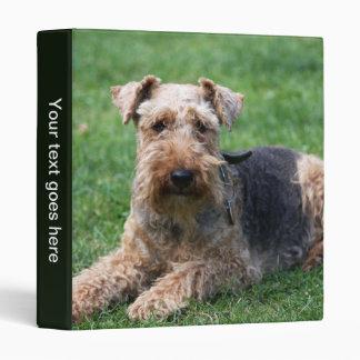 Welsh Terrier dog cute photo album, binder, folder