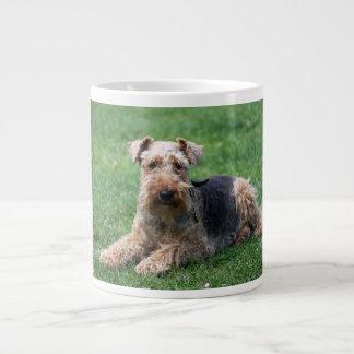 Welsh Terrier dog cute photo beautiful jumbo mug 20 Oz Large Ceramic Coffee Mug