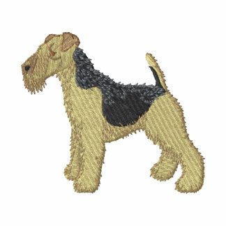 Welsh Terrier Embroidered Jackets