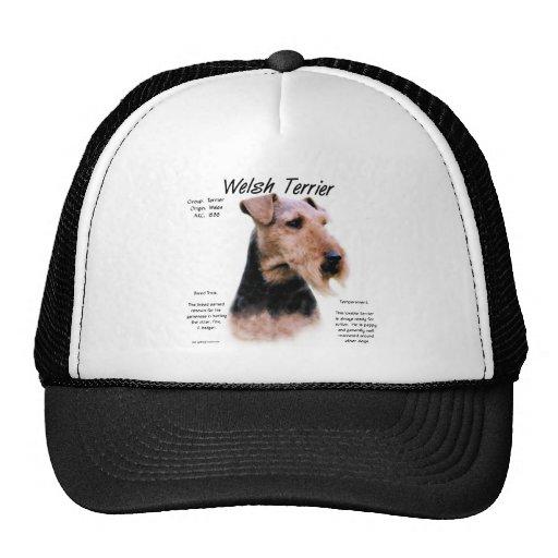 Welsh Terrier History Design Trucker Hat