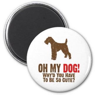 Welsh Terrier Fridge Magnets