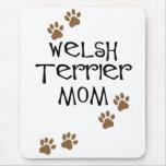 Welsh Terrier Mom for Welsh Terrier Dog Moms Mouse Pad