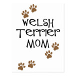 Welsh Terrier Mom for Welsh Terrier Dog Moms Postcard