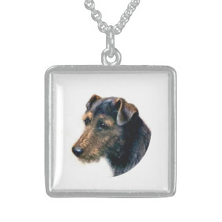 Welsh Terrier Neckwear Sterling Silver Necklace