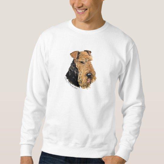 Welsh Terrier Portrait Sweatshirt