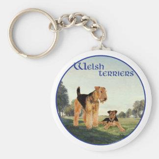 Welsh Terriers Keychain