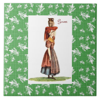 Welsh Traditional Costume - Gower Tile