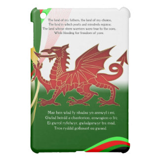 Welsh - Welsh National Anthem iPad Mini Case