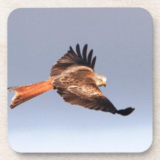 Welsh Wild Red Kites Cork Coaster