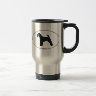Welshie Silhouette Travel Mug