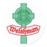 Welshman Classic Round Sticker