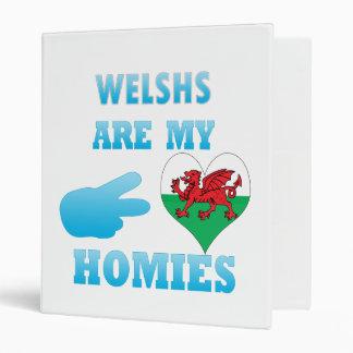 Welshs are my Homies Vinyl Binder