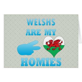 Welshs es mi Homies Felicitación