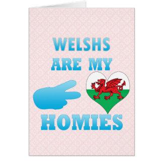 Welshs es mi Homies Felicitacion