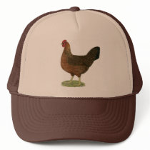 Welsummer Hen Trucker Hat