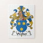 Welter el escudo de la familia puzzles