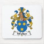 Welter el escudo de la familia tapetes de ratones