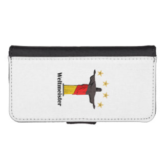 weltmeister2014.png iPhone SE/5/5s wallet case