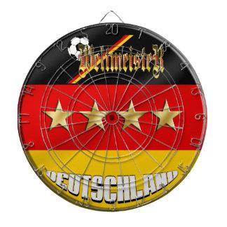 Weltmeister Deutschland Germany World Champions Dartboard