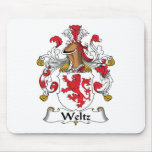 Weltz Family Crest Mouse Pads