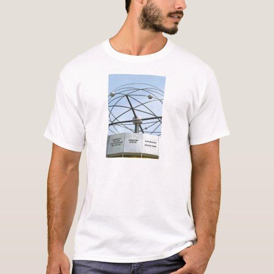 Weltzeituhr T-Shirt