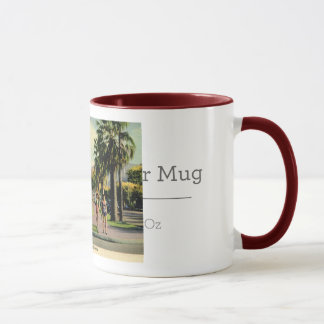 Welwood Library, Palm Springs, California Vintage Mug