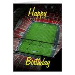Wembley Stadium Birthday Card